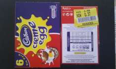 Box of 6 Creme Eggs for 37p Instore @ Booths