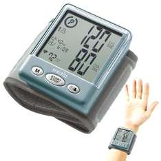 HoMedics Automatic Wrist Blood Pressure Monitor Was £69.99 Now £7.08 delivered@ Dealtastic