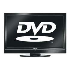 """Toshiba 22DV500B - 22"""" Widescreen HD Ready LCD TV and DVD Player Combi with Freeview - Black - £149.99 @ Amazon"""