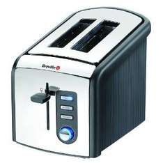 Breville VTT214 Polished Stainless Steel 2 Slice Toaster - Now £16.50 @ Amazon