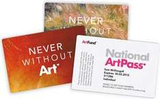 Free Three Month National Artpass @ Artfund