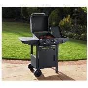 Tesco 2 burner with side burner & cabinet was £250 now £100 @ tesco
