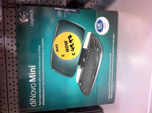 Logitech Dinovo Mini Sealed Box - £49.97 @ Electrical Clearance Store