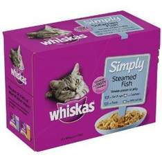 Whiskas simply box of 12 £3.00 @ co-op