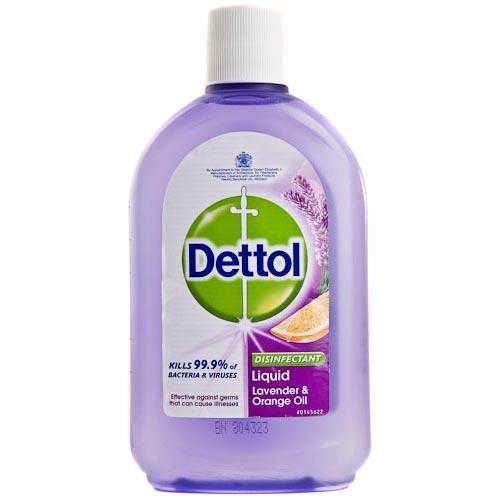 Dettol Disinfectant Liquid Lavendar and Orange Oil 500ml £1 @ poundland