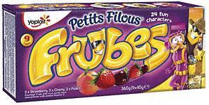Petits Filous Frubes - Tubes & Sachets £2 BOGOF at Tesco