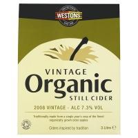 Westons Vintage Organic Cider 3 litres £5 @ Tesco