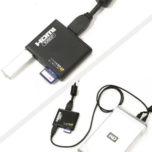 TurnMeOn Micro Movie Media Player V2@Dealtastic.co.uk Deliveredc for £27.06