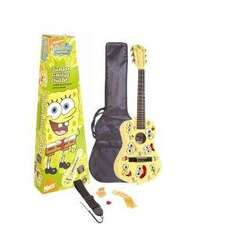 Spongebob Junior Nylon String Guitar - (1/2 Size) with Carry Bag, Strap, Pitch Pipe, Plectrum and Spare Set of Strings - £24.92 @ Amazon