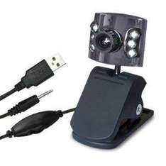 2 Megapixel Webcam with Built-in Microphone, Built-in 6 LED Lights - £4.11 Delivered @ Amazon Sold by PrePayMania