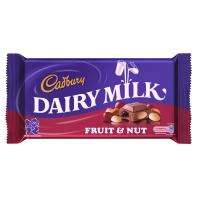 Cadbury's Fruit & Nut Chocolate (230g) -  2 for £3 @ ASDA