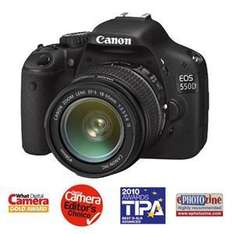 Canon EOS 550D with 18-55mm IS Lens - £599.95 @ Jessops