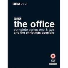 The Office: Complete Series 1 & 2 and Christmas Specials (DVD) - £7.99 @ Amazon