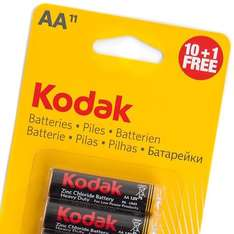 11 x Kodak AA batteries at Poundland for (have a guess) just £1 - seen in-store today