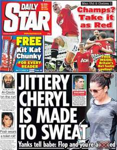 FREE - Kit Kat Chunky with Daily Star (20p)