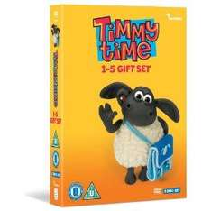 Timmy Time - Series 1-5 (DVD) (5 Disc Box Set) - £11.97 delivered @ Amazon