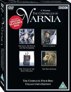 The Chronicles Of Narnia Box Set (DVD) (4 Disc) - £7.47 Delivered @ Amazon UK