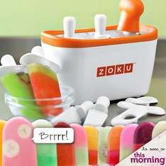 'Quick Pop' Instant Ice Lolly Maker - £17.99 + delivery (Rrp £39.99)  @ Dealtastic