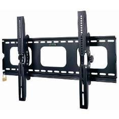 """Duronic PLB103M-K Black Universal 32""""-55"""" LCD/Plasma/LED/3D TV Wall Mount Bracket Tilt with [[ SECURITY LOCKING BAR ]] + FREE TV Screen Cleaner Kit worth £9.99 - £23.61 @ Amazon Sold By Duronic"""