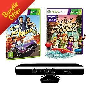 Xbox Kinect Sensor (+ Kinect Adventures) with Kinect Joy Ride - £119 + £4.95 Delivery @ Asda Direct