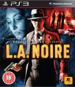 L.A Noire (Xbox 360) (PS3) (Pre-order) - £31.99 (with code) @ Sainsburys Entertainment