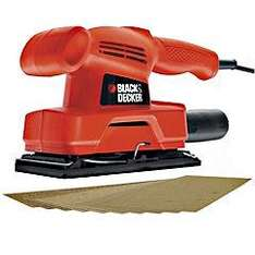 (Instore deal) Black & Decker KA300KAX 1/3 Sheet Sander & Accessories Kit was £50.00, now only £5.00 @ Sainsburys (90% off)