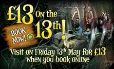 1 Day Admission - £13 Tickets! Friday 13th May 2011 @ Alton Towers