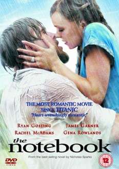 The Notebook (DVD) - £2.99 Delivered @ Amazon & Play