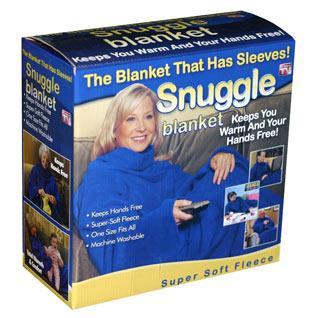 Snuggie Fleece Blanket - £1.99 at TJ Hughes