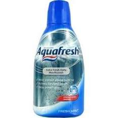 Aquafresh Mouthwash 600ml 99p @ B&M bargains