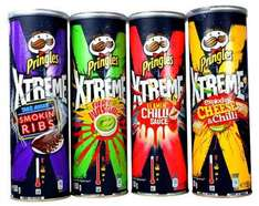 Pringles Xtreme (and regular) + 25g free only £1 at Poundworld