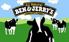 Ben & Jerry's Icecream for £1.64p ( With 50p off voucher instore) or £2.14 without voucher @ Iceland