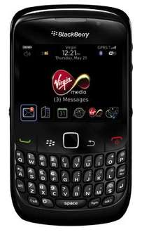 *24 MONTH CONTRACT* Virgin - Blackberry Curve 8520 - 1GB Internet, 500 Texts, 100 Mins + BIS Email - £11.26 Per Month for Virgin Media Customers