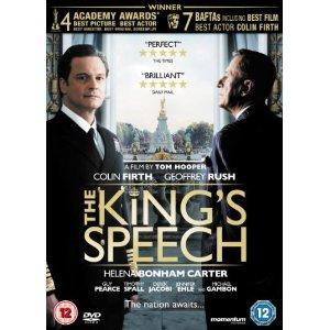 Kings Speech (DVD) - £7.99 @ Amazon