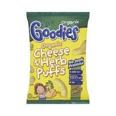 Organix Goodies Organic Cheese & Herb Puffs 15g Only 49p @ Amazon marketplace - Delivered by Lloyds Pharmacy