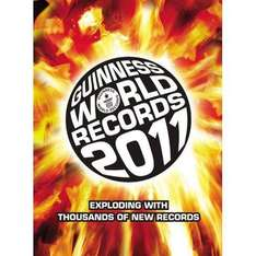 Guiness Book of World Records 2011 (Book) - Reduced to £2.50 @ Asda (Instore)