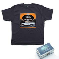 Landrover T-Shirt - was £25.46 now £6.99 + £4.95 Delivery @ Derby House
