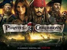 Free Screening - Pirates of the Caribbean - (3) -  Sunday 15th 4.00 pmVue - West End London only