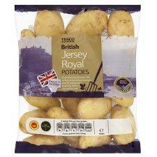 Jersey Royal Potatoes Large 1kg Bag (half price) £1.24 at Tesco