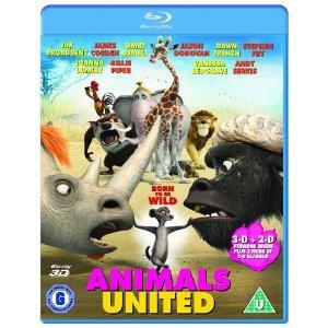 Animals United 3D (Blu-ray) - £12.99 @ Sainsburys