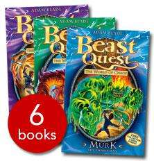 Beast Quest Series 6 Collection - 6 Books (Paperback) - £6.99 delivered @ The Book People