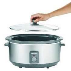 Morphy Richards 48718 Oval Stainless Steel Slow Cooker, 6.5 Litres - £19.21 @ Amazon