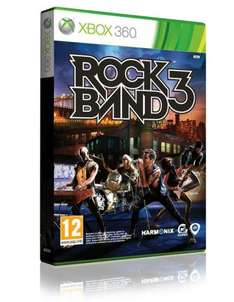 Rock Band 3 (Xbox 360) - £17.86 Delivered @ Shopto