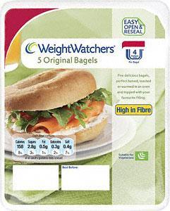 Weight Watchers Original Bagels - 5 pack 67p, Discovery Plain Flour Tortillas - 8 pack £1 & Brioche Pasquier Milk or Choc Chip Brioche Rolls - 16 for £2 - at Tesco