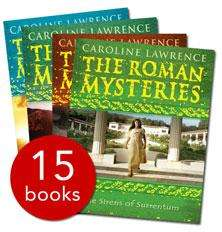 Roman Mysteries Collection - 15 Books - £7 + £1.95 Delivery @ The Book People