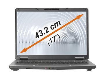 "Medion Akoya P7610 17"" Blu-ray Laptop - £319.50 Delivered @ Medion"