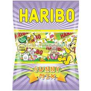 Haribo Bunny Mix 225-250g bags 25p each at Asda