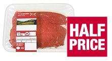 British beef rump steak half price was £12.99 now only £6.49 @ co-op
