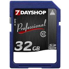 32GB Class 10 SDHC Memory Card - £25.99 Delivered @ 7dayshop