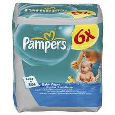 Pampers Baby Fresh Baby Wipes - 12 x Packs £7.77 (10% more off with subscription) @ Amazon